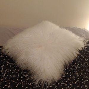 Other - White Sheepskin Pillow, Super soft